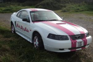 AMERICAN FORD MUSTANG 2000 CUSTOM CAR PINK MY RIDE CLIFFORD ALARM may swap p/x
