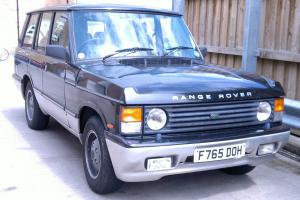 1988 ROVER RANGE ROVER EFI AUTO BLACK (LPG)  Photo
