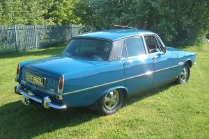 Rover 3500 S 1972 Scarab blue  Photo