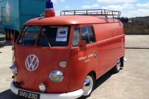 1966 VW Splitscreen Panel Van Camper ex Fire Engine Volkswagen T2 LHD
