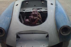 MGA Coupe abandoned resoration project 1960.  Photo