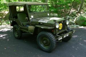 1952 WILLYS JEEP - M38 MILITARY JEEP - RESTORED CLASSIC ANTIQUE - LOW RESERVE!!!