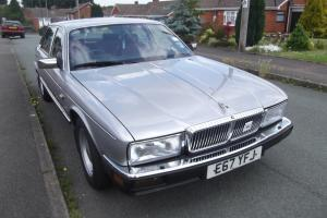 DAIMLER 3.6 1987 38000MILES FROM NEW IN SILVER METALIC / RED LEATHER INTERIOR