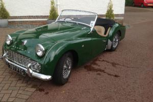 1959 Triumph TR3A Roadster Manual Racing Green