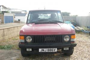 RANGE ROVER 2 DOOR SCHULER FF  Photo