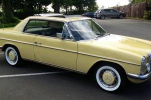 1974 MERCEDES W114 280ce COUPE..VERY RARE CLASSIC MERC,THESE DON