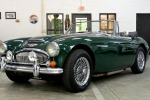 1967 AUSTIN-HEALEY MKIII 3000 BJ8 CONVERTIBLE ELECTRIC OVERDRIVE RALLEY LIGHTS Photo