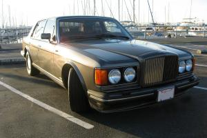 1989 Bentley Turbo R in perfect condition, 47K miles, Metal Grey with Burgundy