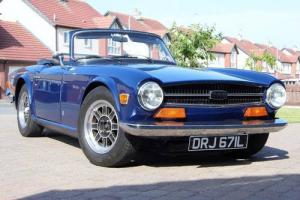 Triumph TR6 PI 150 bhp 1973 Overdrive Photo