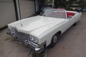 1973 Cadillac Convertible Cruiser Boss HOG Classic Caddy 2 Door