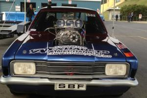 Ford TD Cortina Drag CAR Blown Injected Alcohol