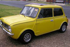 Leyland Mini Sunshine 1977 2D Sedan 4 SP Manual 1275cc Twin Carbs  Photo