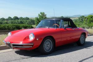 Duetto, 1750, 1969, Red, Spider, Alfa, Dovetail