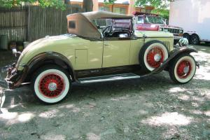 1929 Chrysler Roadster - Model 75 - Older resto of rust-free TX car - Golf Door