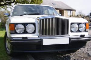 1987 BENTLEY WHITE TURBO R  Photo