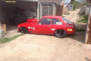 mgb gt V8 pro rover championship race car...THE SUPER B...