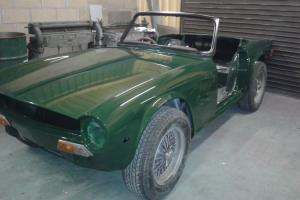 TRIUMPH TR6 classic restoration project,barn find  Photo