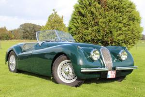 1954 JAGUAR XK120 ROADSTER. 100 Photo