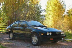 1986 Alfa Romeo GTV-6 -Extremely Original Example in Outstanding Condition