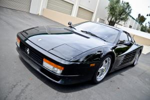 1988 Ferrari Testarossa 4.9L H12 RWD Black with Black Interior 21,940 miles Photo