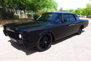 1966 Lincoln Continental 4dr Sedan -Beautiful AZ Car - All Blacked Out - WOW!!