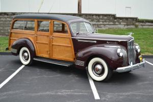 Very Rare and Desireable 1941 Packard Woody Wagon!