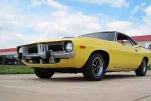 1973 Plymouth Barracuda!! Yellow/Black!! 440/Auto!! Power Steering/Power Brakes!
