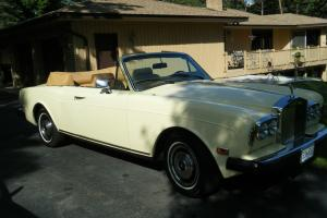 1983 Rolls Royce Corniche Base Convertible 2-Door 6.7L Photo