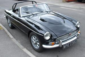 MGB Roadster Costello V8 Rare Collector Photo