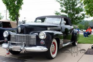 1941 Cadillac 62 Series Convertible Coupe- Ground-Up Restoration!  CCCA Premier!