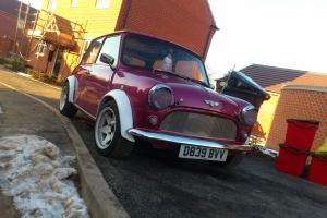 Classic Mini 1275 Pink MG  Photo