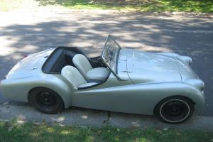 1959 Triumph TR-3 Custom Coupe Roadster  Photo