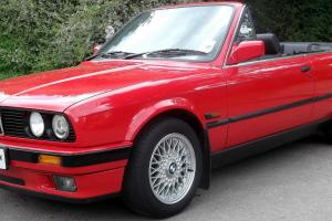 E30 320 Convertible - GENUINE 57,000 Miles - Electric Roof - Leather -WARRANTY