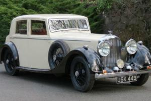 1937 Bentley 4 1/4 Mann Egerton Sports Saloon B117KU  Photo