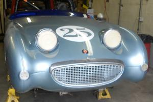 Running Nice Body 1959 Bugeye Sprite Vintage Race Car or Return it to Street Use Photo