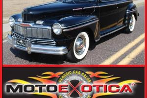 1947 MERCURY SEDAN-SUICIDE DOORS-ARIZONA CAR-MILD CUSTOM-A/C AND CRUISE!!!
