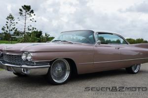 1960 Cadillac Coupe 390 V8 2 Door Pillarless Sort Coupe Caddie Deville  Photo