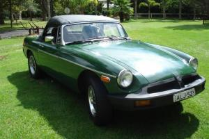MG MGB convertible Green eBay Motors #161055826089 Photo
