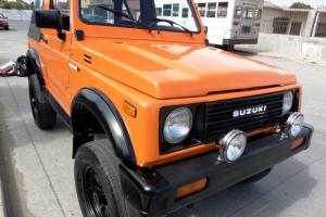 RARE 1987 SUZUKI SAMURAI 4X4, LOADED WITH TACHOMETER AND CLOCK