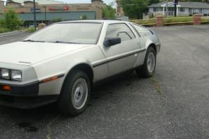 1981 DELOREAN DMC 12 LOW MILEAGE GOOD SHAPE