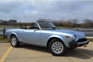 1983 Fiat Pininfarina Spider from Roadster Salon 74k August Delivery