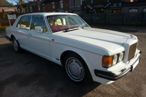 BENTLEY TURBO R 1991 PX FINISHED IN ORIGINAL FACTORY ACRYLIC WHITE