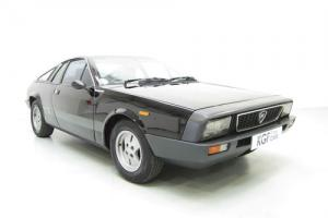 A Rare Lancia Beta Montecarlo Coupe with 79,513 Miles and Former Keeper 24 years