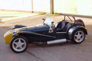 1996 Caterham, titled as 1967 Lotus Super 7 roadster, collector car new engine