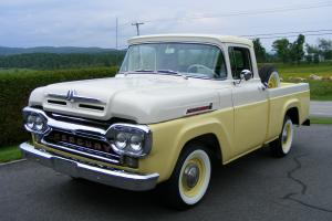 1959 Mercury 100 pick-up short box 4X2 Ford