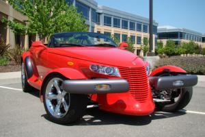 1999 Plymouth Prowler | Prowler Red | Trailer Trunk | Low Miles, Excellent Cond
