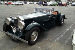1952 ROLLS ROYCE SILVER DAWN MERCIA SPECIAL SPEEDSTER 185 MI FROM NEW ONE OF ONE
