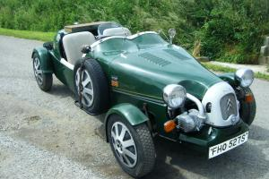Citroen 2cv based Lomax 224 built on Ami chassis, Lovingly named