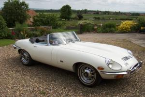 JAGUAR E-TYPE S2 DHC / ROADSTER LHD. UK taxes paid, MoT