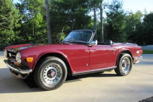 1972 Triumph TR6 Photo